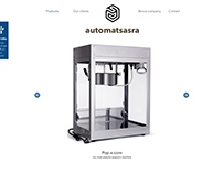 Homepage Design for Automatsasara