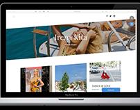UX Design For Fashion Blogger