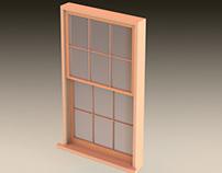 100 yr Old Window Restoration
