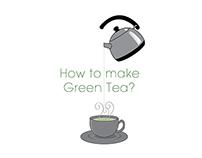 How To make Green Tea?