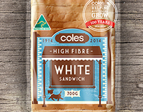 Coles Centenary Bread