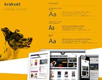 Krakvet.pl - redesign