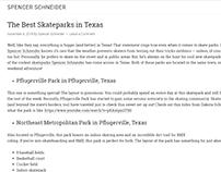 Best Skateparks in Texas - Spencer Schneider