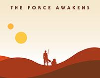 STAR WARS VII (poster minimaliste)