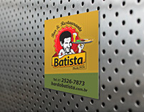 Bar do BATISTA. Identidade visual e marca.