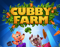 Game Design: Cubby Farm Characters and Graphics