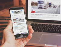 Trucks.com | Web Design + Brand Exploration