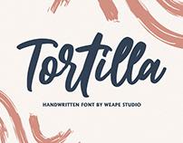 Tortilla Handwritten Font
