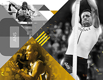 Athletics - Brochure design