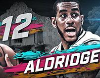 NBA San Antonio Spurs: Pitch