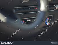 Modern Car Interior (A/C)