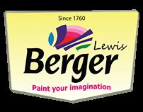 Berger Paints Products Branding .