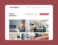 Adis Group Website