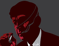 The Smoking Man - Official X files art show