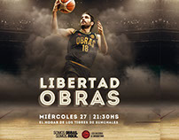 Obras Basket Game Day Flyers