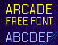 ARCADE FONT (Free Download)