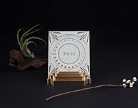 2016 Calendar for Dongshan Condo