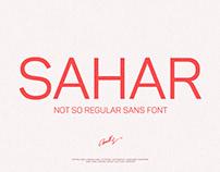 Sahar-Regular Sans Serif (Free Download)