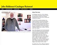 John Baldessari Catalogue Raisonné