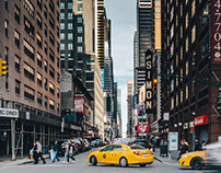 Vibrant New York Streets