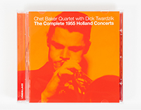 Chet Baker CD packaging