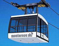 Monterosa Ski Poster