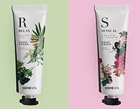 Spa & cosmetics identity design
