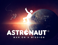 Astronaut logo (icon) Design