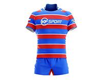 KF SPORT Rugby Uniform