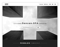 WEB DESIGN_sansan