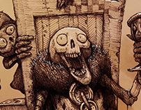 Humorous Skull