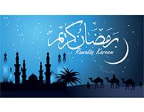 Vector Arab background Ramadan card