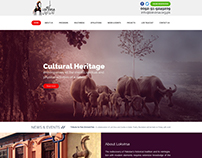 Lokvirsa - Wordpress theme design