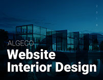 ALGECO – Website Interior Design
