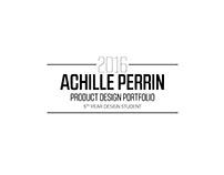 Achille Perrin Portfolio 2016