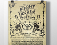 Fight Like a Man Cancer Promo