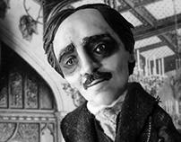 O Retrato Oval - Edgar Allan Poe - Stop-Motion puppet