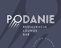 PODANIE restaurant lounge bar at City Stadium in Poznań