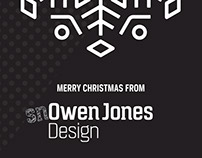 Merry Christmas 2014 from SnOwen Jones Design