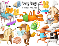 Collection of cute Dogs