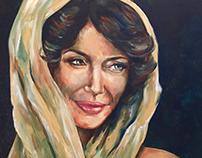The Dusky Beauty - Angelina Jolie