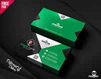 Free Business Card Design Templates Bundle