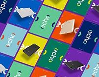 Echo smartphones - Identity design & branding