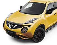 Nissan Juke Colour Change and Retouching