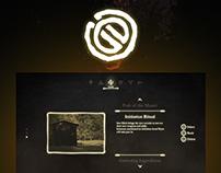 Sorcerer's Oath - Game UI
