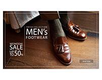 Ad banner | Footwear