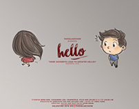 'Hello' - Short Film Illustration