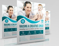 Pediatrician Flyer Template