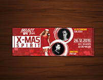 Party Ticket Design