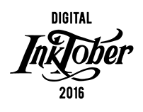 Digital Inktober 2016